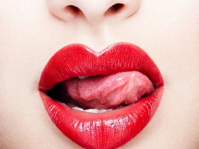 セクシーな唇
